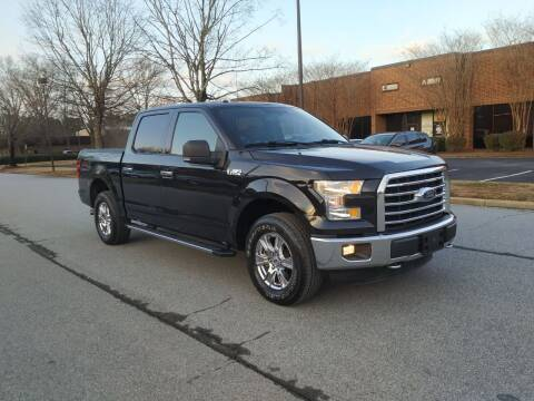 2015 Ford F-150 for sale at United Luxury Motors in Stone Mountain GA