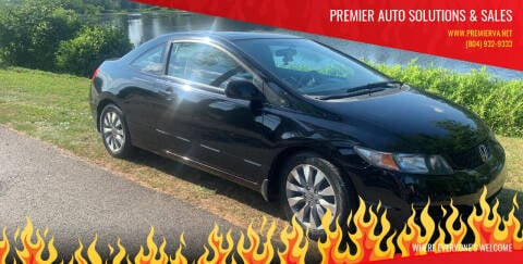 2009 Honda Civic for sale at Premier Auto Solutions & Sales in Quinton VA