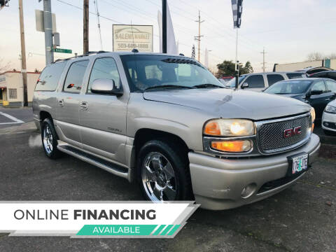 2004 GMC Yukon XL for sale at Salem Auto Market in Salem OR