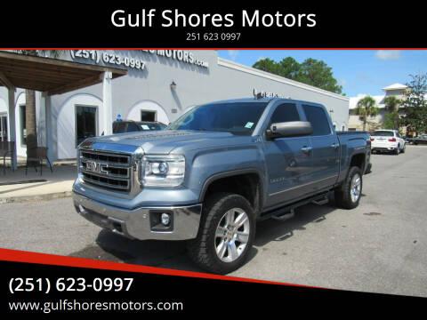 2015 GMC Sierra 1500 for sale at Gulf Shores Motors in Gulf Shores AL