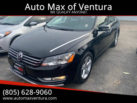 2015 Volkswagen Passat for sale at Auto Max of Ventura in Ventura CA