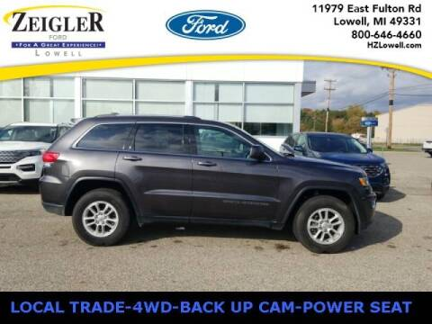 2019 Jeep Grand Cherokee for sale at Zeigler Ford of Plainwell- michael davis in Plainwell MI