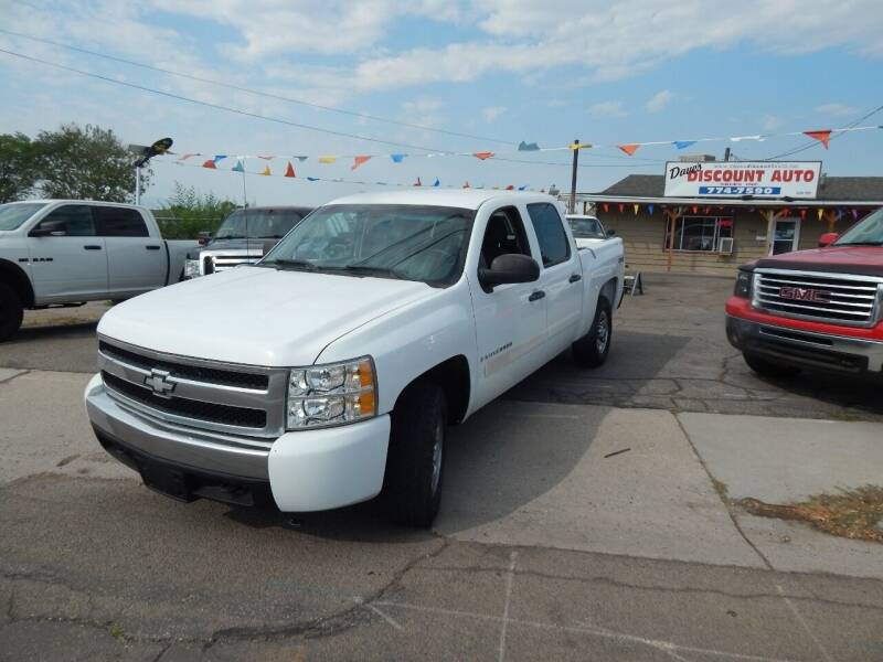 2008 Chevrolet Silverado 1500 for sale at Dave's discount auto sales Inc in Clearfield UT