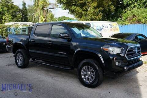 2018 Toyota Tacoma for sale at Michael's Auto Sales Corp in Hollywood FL