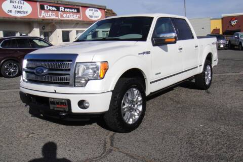 2012 Ford F-150 for sale at Don Reeves Auto Center in Farmington NM