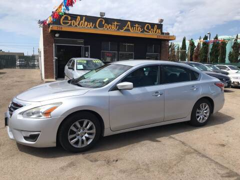 2014 Nissan Altima for sale at Golden Coast Auto Sales in Guadalupe CA
