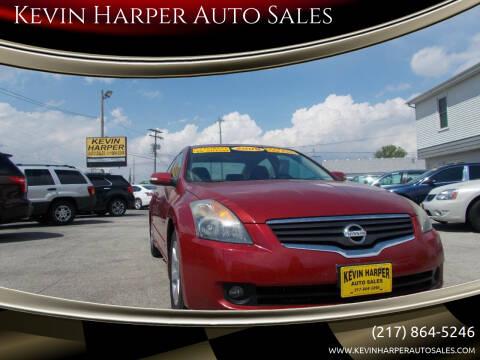 2009 Nissan Altima for sale at Kevin Harper Auto Sales in Mount Zion IL