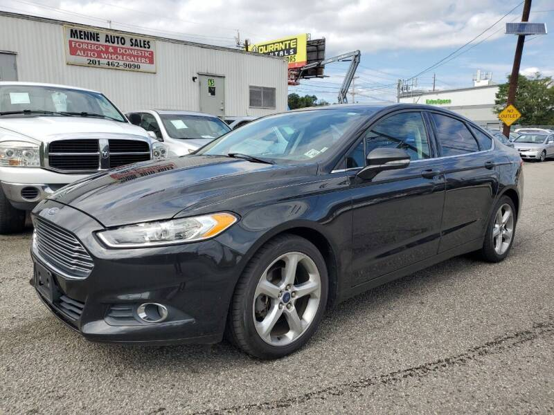 2015 Ford Fusion for sale at MENNE AUTO SALES in Hasbrouck Heights NJ