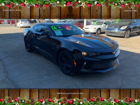 2016 Chevrolet Camaro for sale at Salas Auto Group in Indio CA