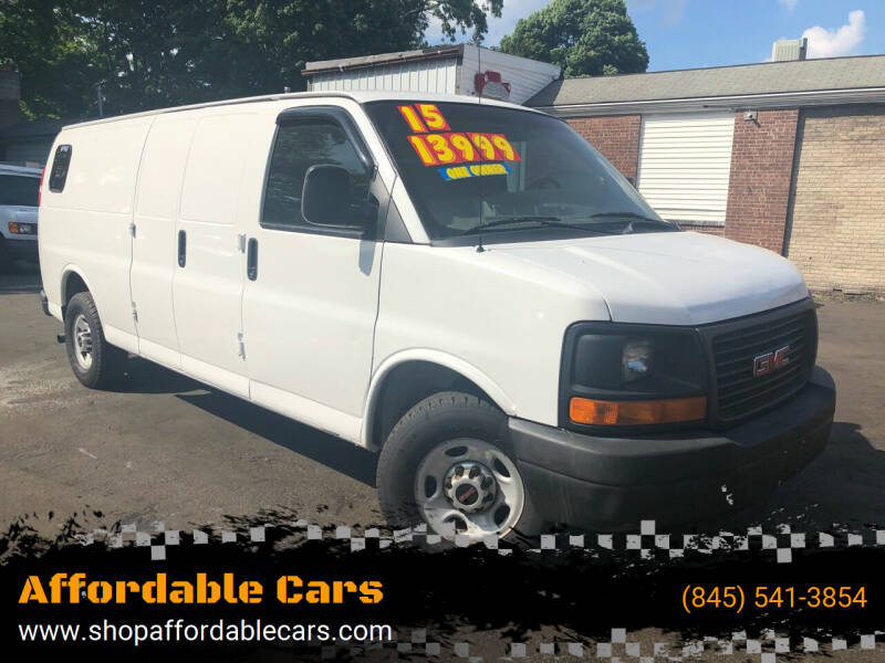 2015 GMC Savana Cargo for sale at Affordable Cars in Kingston NY
