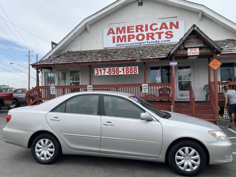 2005 Toyota Camry for sale at American Imports INC in Indianapolis IN