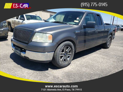 2005 Ford F-150 for sale at Escar Auto in El Paso TX