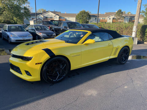 2015 Chevrolet Camaro for sale at All In Auto Inc in Palatine IL