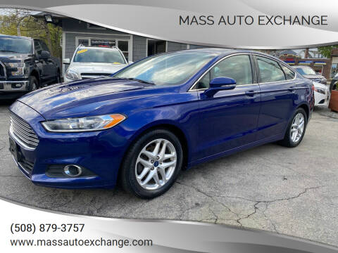2014 Ford Fusion for sale at Mass Auto Exchange in Framingham MA