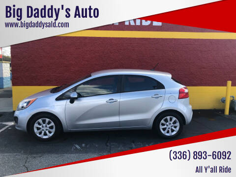 2013 Kia Rio 5-Door for sale at Big Daddy's Auto in Winston-Salem NC
