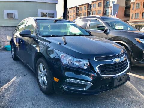 2015 Chevrolet Cruze for sale at Real Auto Shop Inc. in Somerville MA