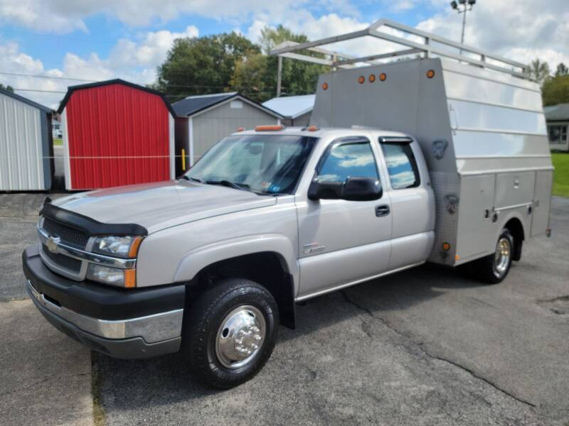 2004 Chevrolet Silverado 3500 for sale at Motorsports Motors LLC in Youngstown OH