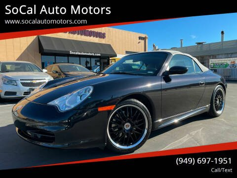 2003 Porsche 911 for sale at SoCal Auto Motors in Costa Mesa CA