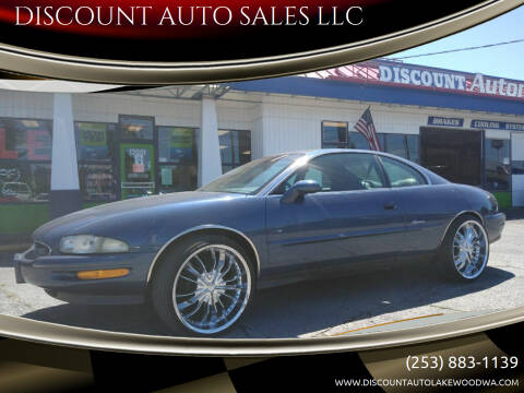 1995 Buick Riviera for sale at DISCOUNT AUTO SALES LLC in Spanaway WA