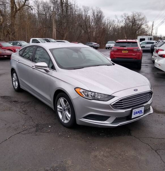 2018 Ford Fusion for sale at JERRY GRADL MOTORS INC in North Tonawanda NY