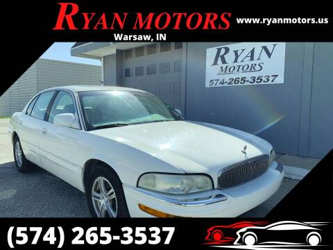 2003 Buick Park Avenue for sale at Ryan Motors LLC in Warsaw IN