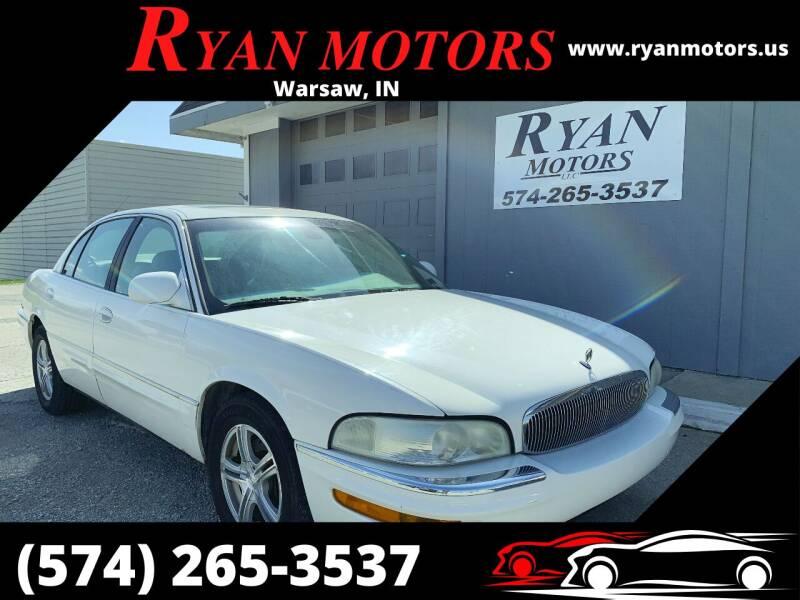 2003 Buick Park Avenue for sale at Ryan Motors LLC in Warsaw IN