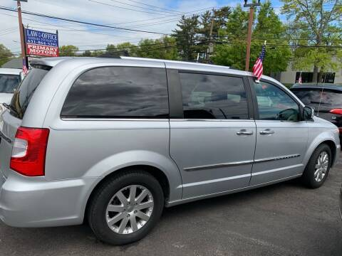 2011 Chrysler Town and Country for sale at Primary Motors Inc in Commack NY