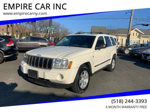 2005 Jeep Grand Cherokee for sale at EMPIRE CAR INC in Troy NY