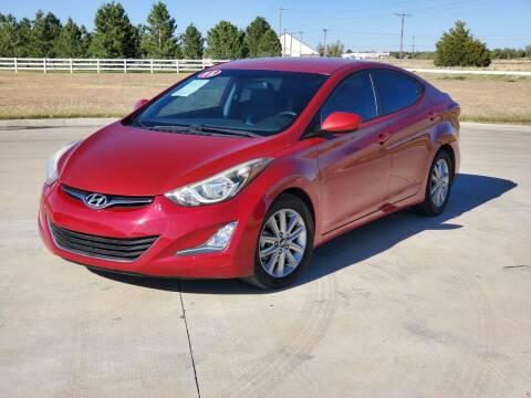 2015 Hyundai Elantra for sale at Chihuahua Auto Sales in Perryton TX