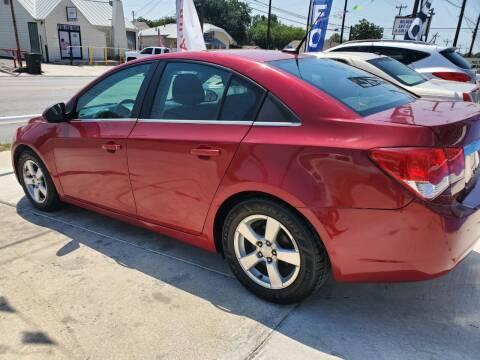 2014 Chevrolet Cruze for sale at Progressive Auto Plex in San Antonio TX