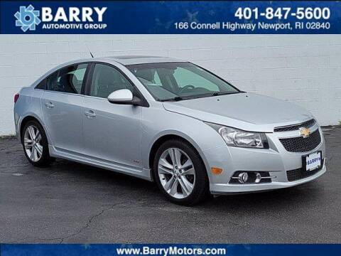 2012 Chevrolet Cruze for sale at BARRYS Auto Group Inc in Newport RI