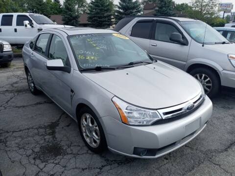 2008 Ford Focus for sale at Peter Kay Auto Sales in Alden NY