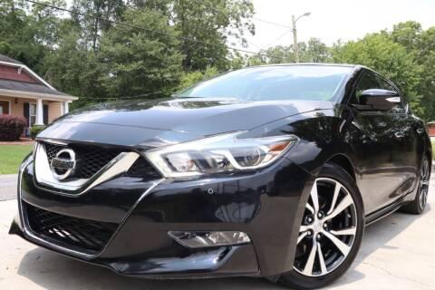 2016 Nissan Maxima for sale at Cobb Luxury Cars in Marietta GA