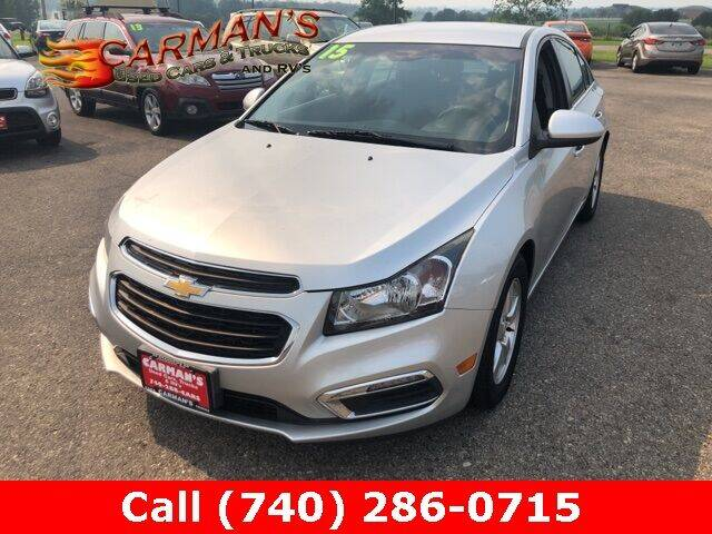 2015 Chevrolet Cruze for sale at Carmans Used Cars & Trucks in Jackson OH