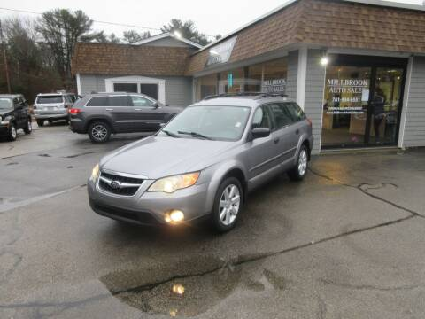 2008 Subaru Outback for sale at Millbrook Auto Sales in Duxbury MA
