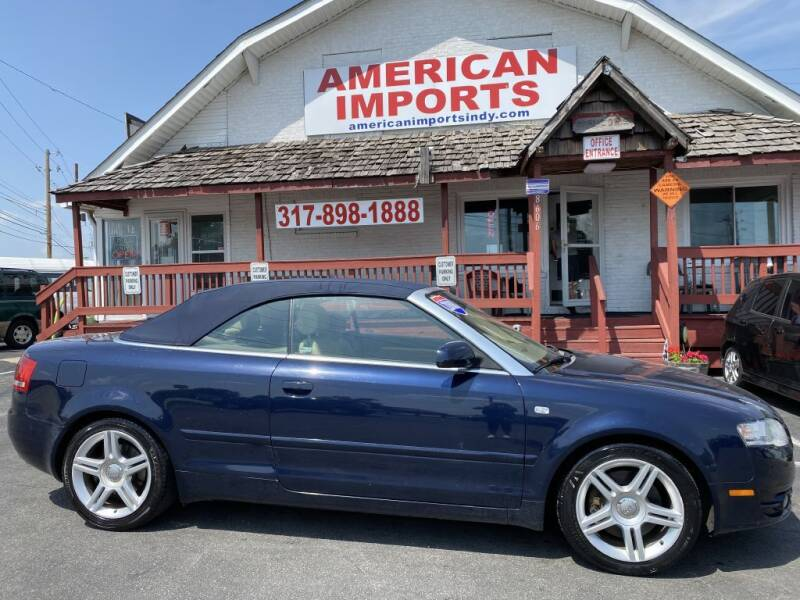 2008 Audi A4 for sale at American Imports INC in Indianapolis IN