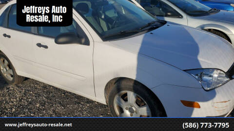 2007 Ford Focus for sale at Jeffreys Auto Resale, Inc in Clinton Township MI