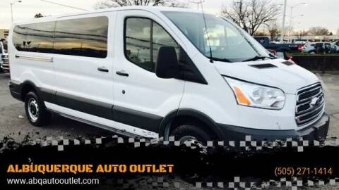 2015 Ford Transit Passenger for sale at ALBUQUERQUE AUTO OUTLET in Albuquerque NM