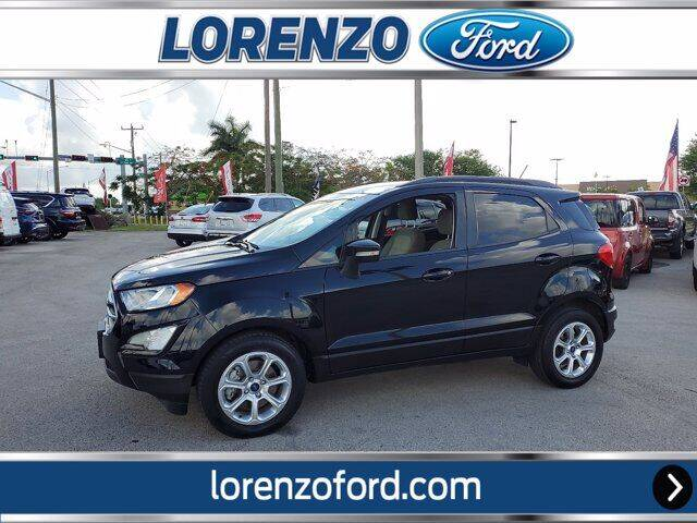 2018 Ford EcoSport for sale at Lorenzo Ford in Homestead FL