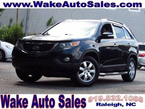2013 Kia Sorento for sale at Wake Auto Sales Inc in Raleigh NC