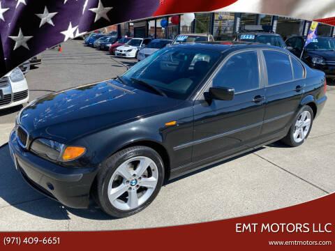 2004 BMW 3 Series for sale at EMT MOTORS LLC in Portland OR