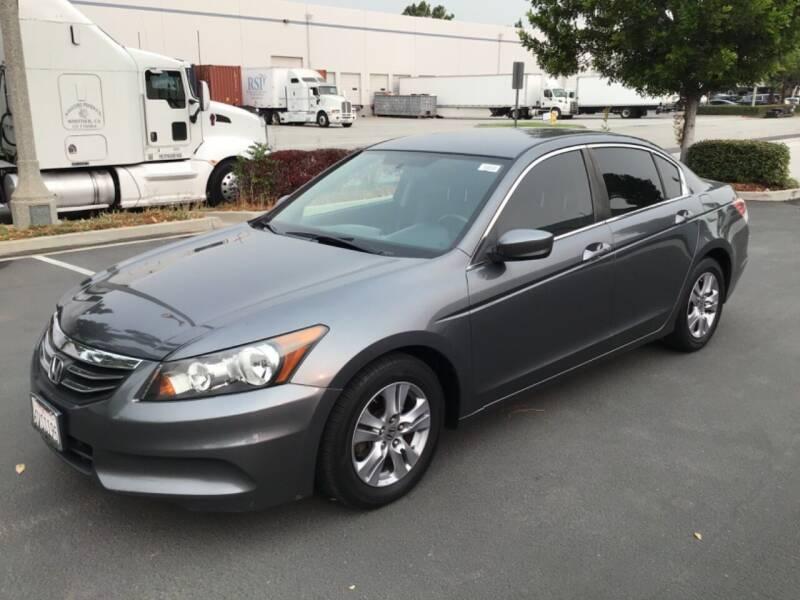 2012 Honda Accord for sale at Tri City Auto Sales in Whittier CA