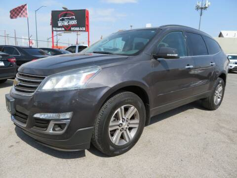 2015 Chevrolet Traverse for sale at Moving Rides in El Paso TX