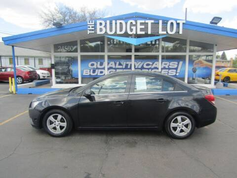 2014 Chevrolet Cruze for sale at THE BUDGET LOT in Detroit MI