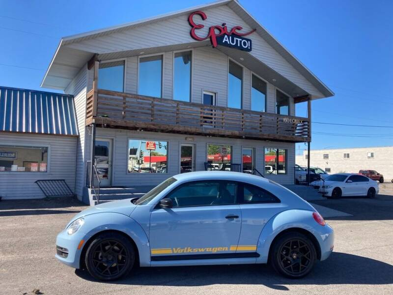 2015 Volkswagen Beetle for sale at Epic Auto in Idaho Falls ID