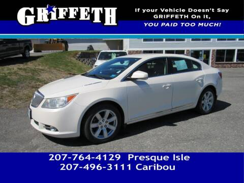 2012 Buick LaCrosse for sale at Griffeth Mitsubishi - Pre-owned in Caribou ME