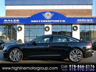 2020 Audi A6 for sale at Highline Group Motorsports in Lowell MA