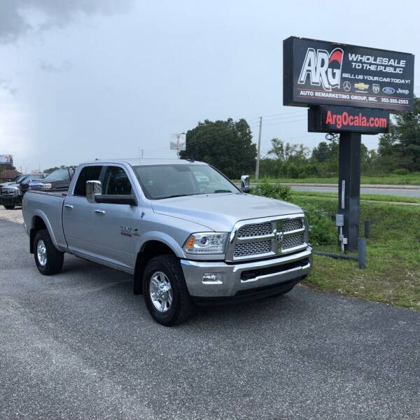 2013 RAM Ram Pickup 2500 for sale at Auto Remarketing Group in Ocala FL