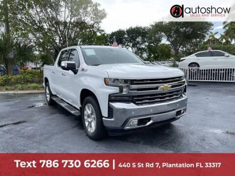 2019 Chevrolet Silverado 1500 for sale at AUTOSHOW SALES & SERVICE in Plantation FL