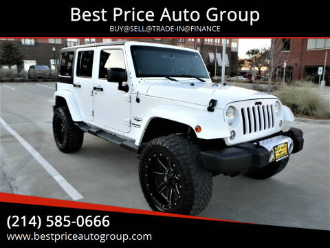 2014 Jeep Wrangler Unlimited for sale at Best Price Auto Group in Mckinney TX
